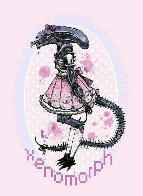 595 best aliens ufo images on pinterest aliens book for Pastel goth tattoos