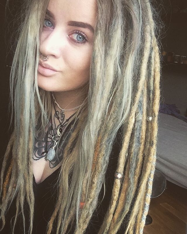 half dreaded hair styles best 25 half dreads ideas that you will like on 1484