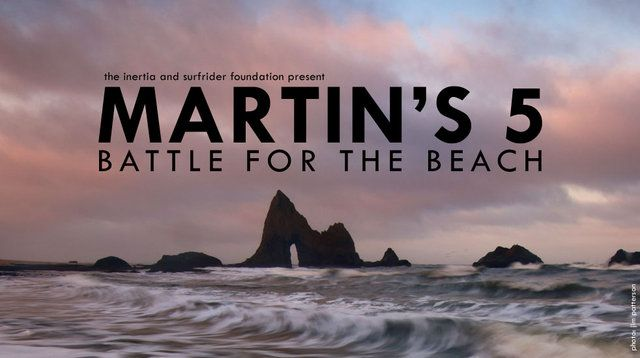 """Martin's 5: Battle for the Beach explores the Surfrider Foundation's fight to keep America's beaches open to the public through the lens of a monumental court case in San Mateo County, California that will have larger implications on beach access issues in the United States. The short film is the second in The Inertia's documentary series.  """"We wanted to provide a snapshot of one of the many ongoing beach access campaigns Surfrider is championing,"""" said Zach Wei…"""