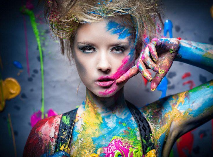фотопроект с красками центр
