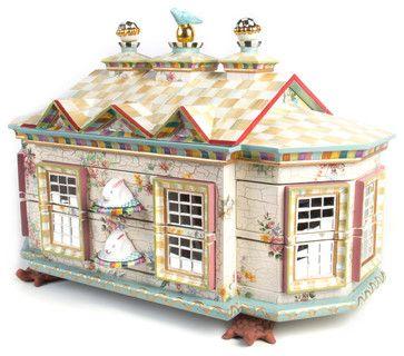 Chicken Palace Jewelry Box | MacKenzie-Childs