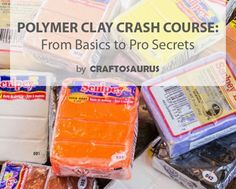 Polymer Clay Trivia - This is great information for any beginner or someone who has never worked with polymer clay before and things one should know.