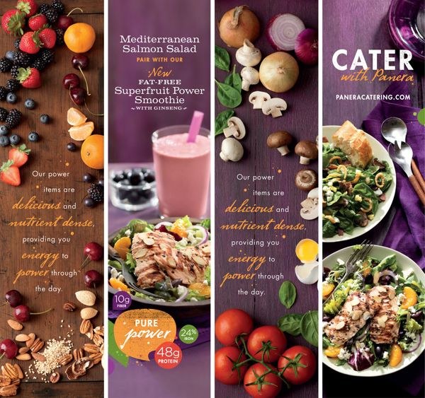 Panera Power Forward by Willoughby Design , via Behance