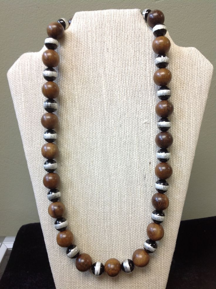 Ebony and Foil Glass Beads.....
