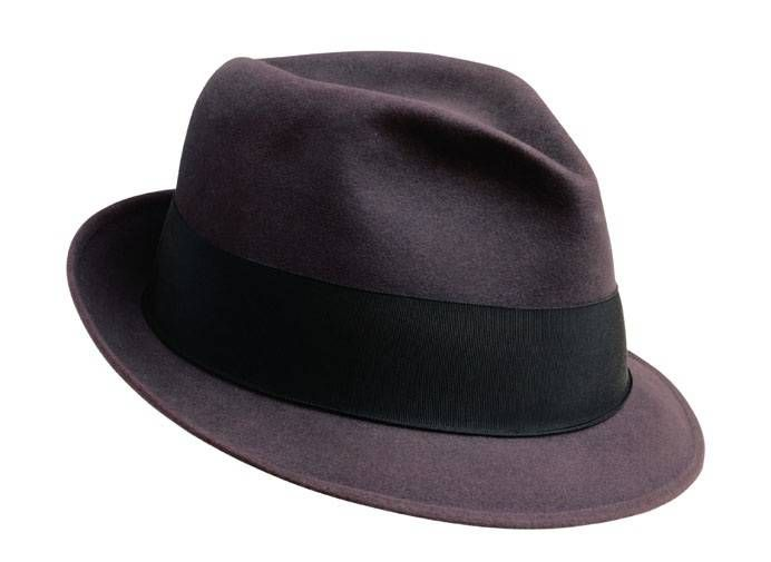 Classic Fedora. ( My PAPA had one of these ) I just think of him when I see one of these and it just puts a smile on my face BECAUSE I LOVED MY PAPA !!!!