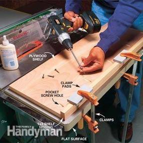 How to Use Kreg Jig® Pocket-Hole Screws