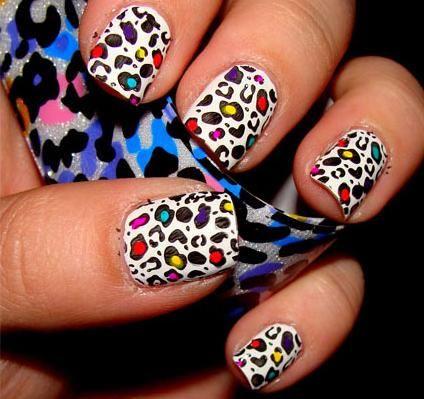 Νύχια: Πως να κάνεις ένα ''χαρούμενο λεοπάρ''! | Μοντέρνα Σταχτοπούτα. . .