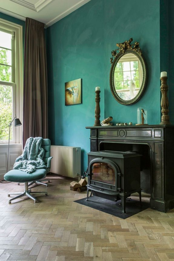 Vardo the teal that farrow ball never had until now for Bedroom ideas with teal walls