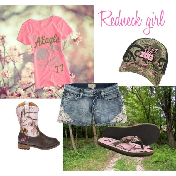 """""""Redneck girl fun"""" by jesimay1 on Polyvore"""