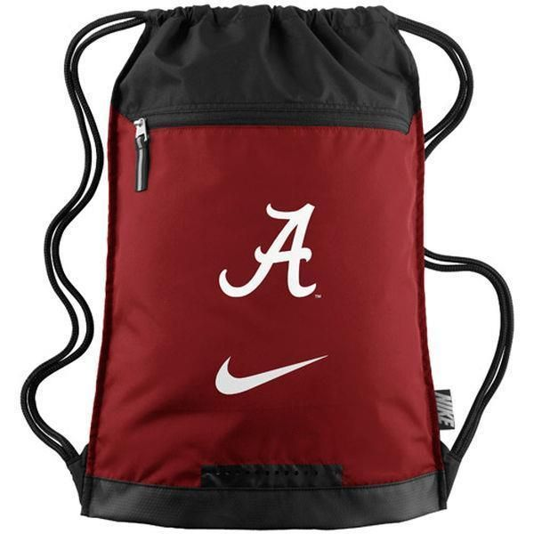 Nike Alabama Crimson Tide Gym Sack String Bag Backpack BZ9638-601 #Nike #Backpack