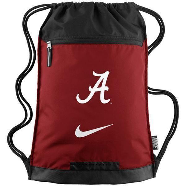 Nike Alabama Crimson Tide Gym Sack String Bag Backpack BZ9638-601 #Nike #Backpack