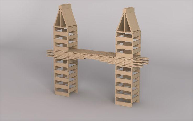 Kapla Bridge by DemonWareXT.deviantart.com on @deviantART