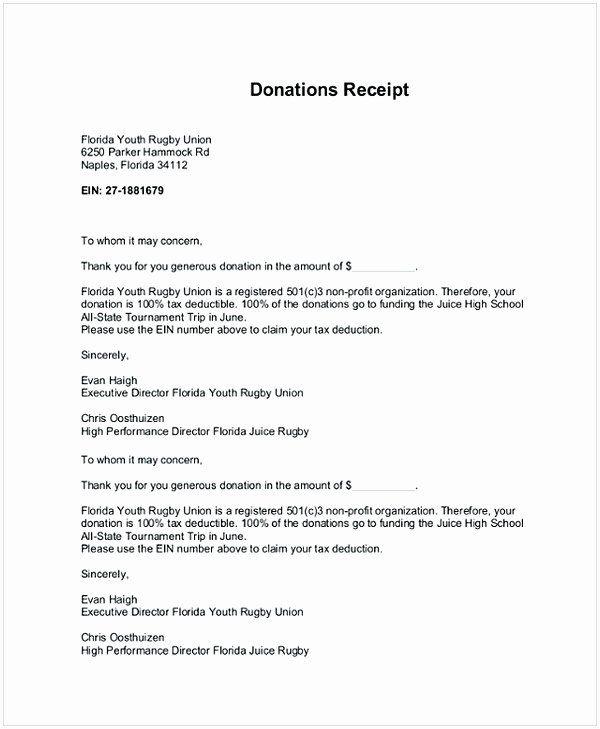 Sample Nonprofit Gift Acknowledgement Letter Unique Donation Receipt Letter Letter Templates Business Letter Example Letter Writing Template