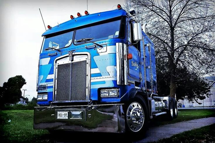 Gmc Credit Card >> Beautiful Kenworth Cabover. | Cabover Trucks: We Got ...