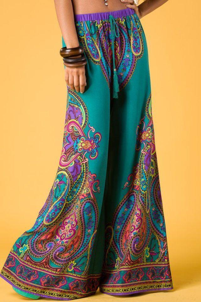 Colorful pants so cute