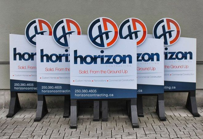 Horizon Contracting Website And Re-branding | The Sign Pad