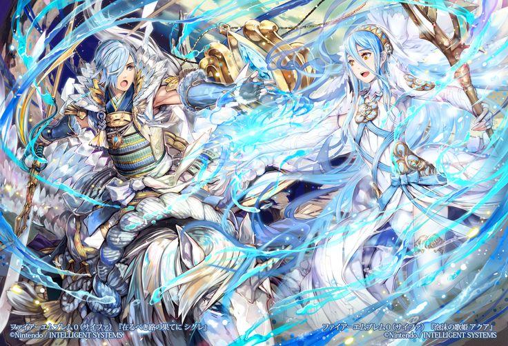 Shigure, Azura - Fire Emblem