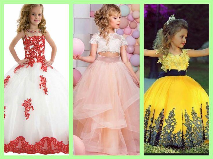 Новогодние детские платья для принцессы 2017 года