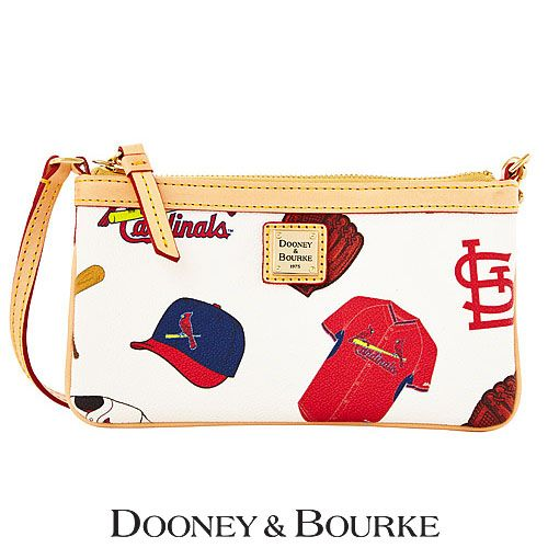 St. Louis Cardinals Large Slim Wristlet by Dooney & Bourke - MLB.com Shop