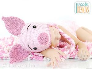 Piglet Amigurumi Free Pattern : 93 best pig crochet patterns images on pinterest crochet granny