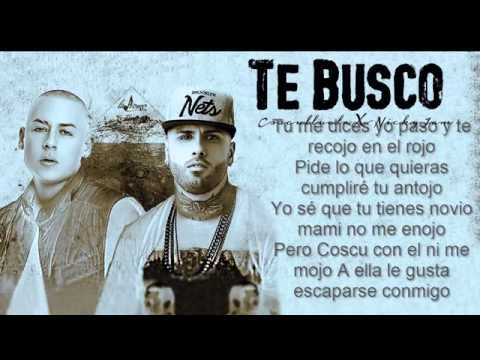 Te Busco - Cosculluela Feat. Nicky Jam Original Reggeton 2015 - YouTube