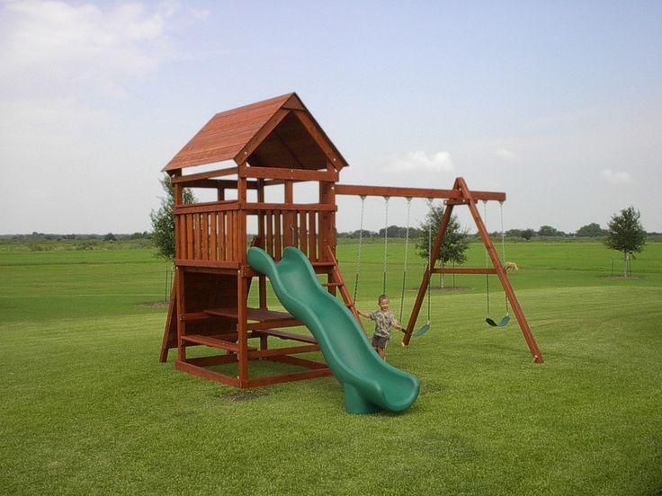 1000 ideas about swing set plans on pinterest swing for Build it yourself swing set
