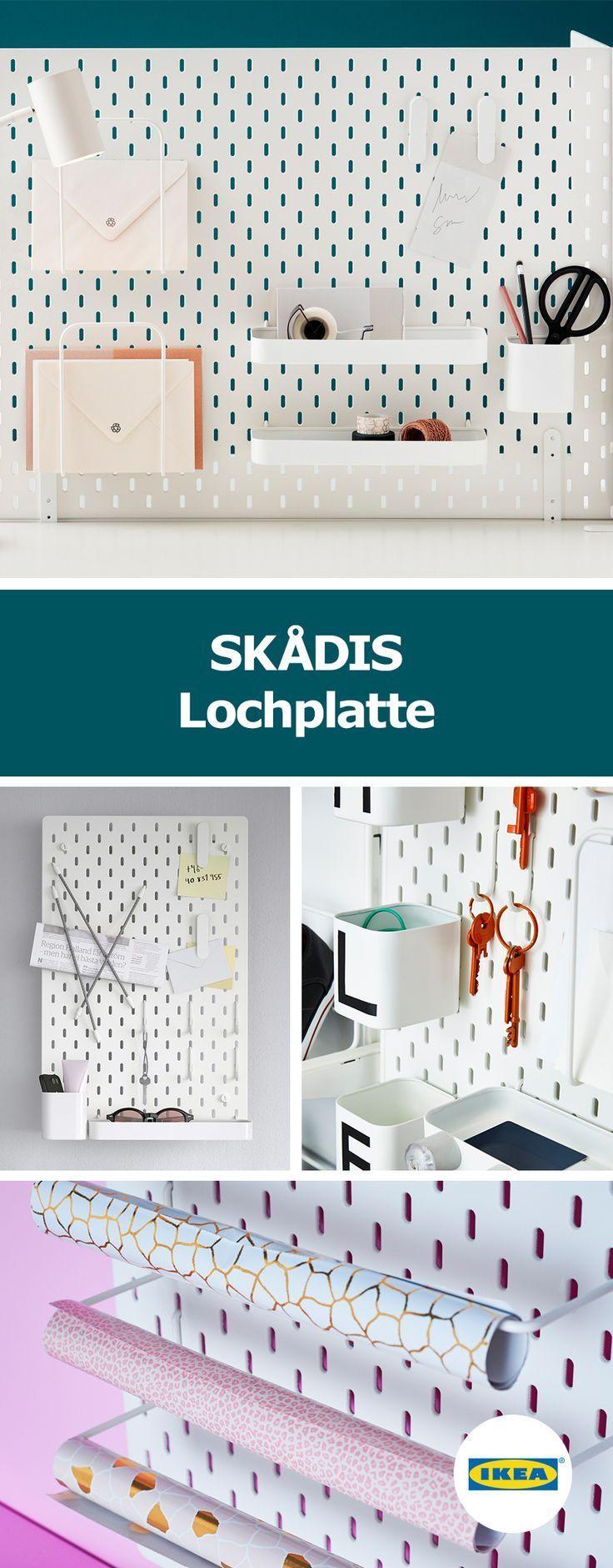 IKEA Deutschland | SKÅDIS ist eine sehr vielseiti… – #aufbewahrung #Deutschland #eine #IKEA #ist