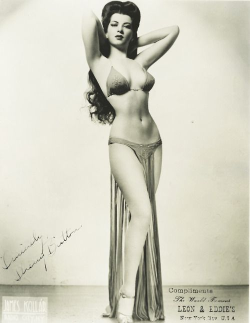 "Sherry Britton was a burlesque performer of the 1930s and early 1940s. The 5'3"" (160 cm) Britton had an 18"" (46cm) waist, and was once said to have a ""figure to die for"". She had an incredible life."