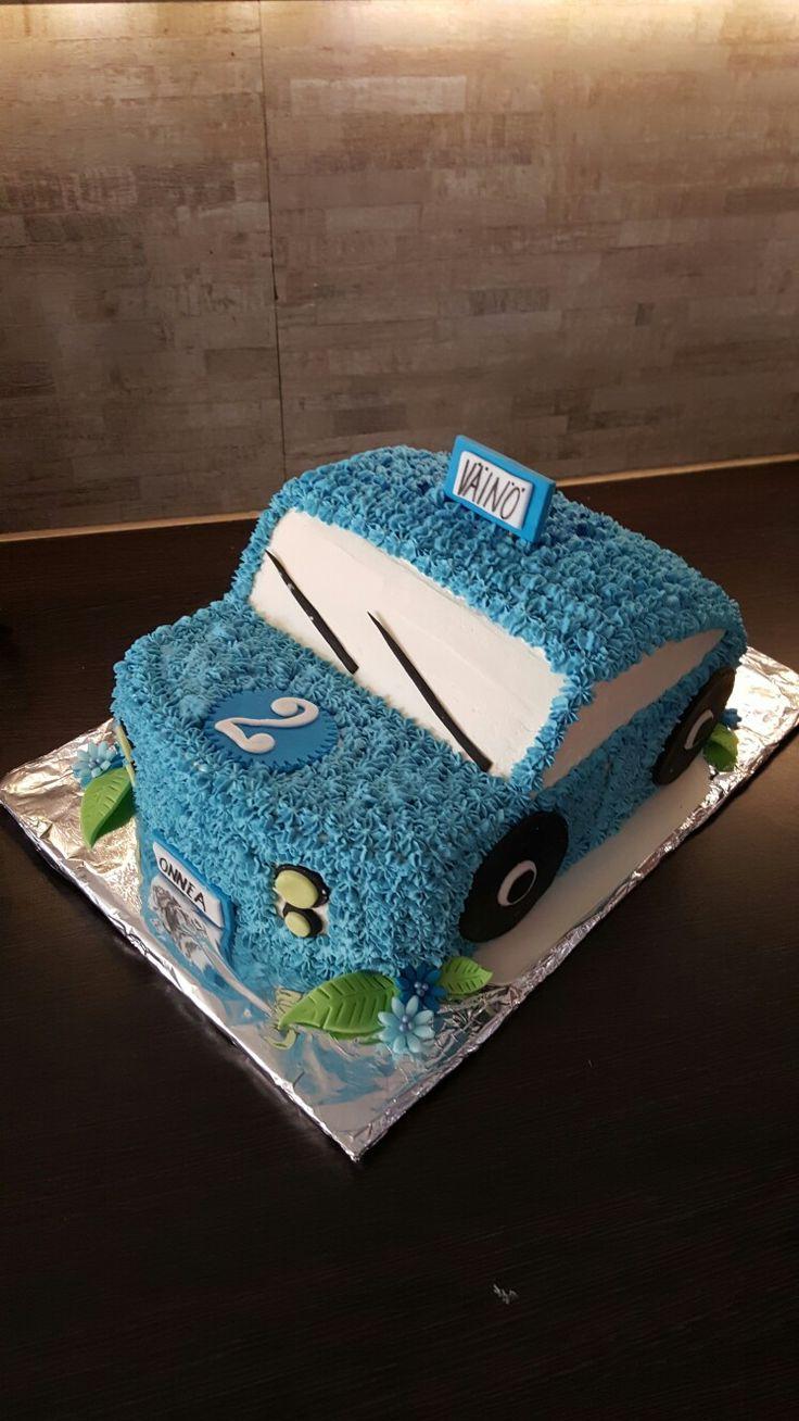 Car cake fir little boy