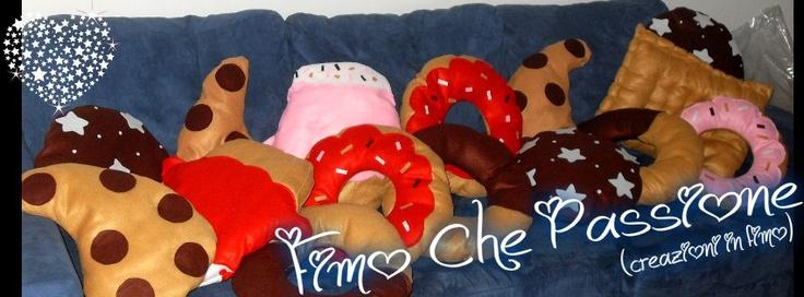 Gocciole, cupcake, pan di stelle, abbracci, ciambelle, frollino...