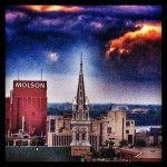 Ciel! #ciel #sky #skyporn #montreal #quebec #pont #bridge #city #météo #weather #photo #photographie