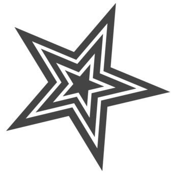 Pauly D Star Tattoo Design