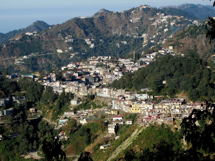 A Portrait of Mussoorie in Garwhal Hills