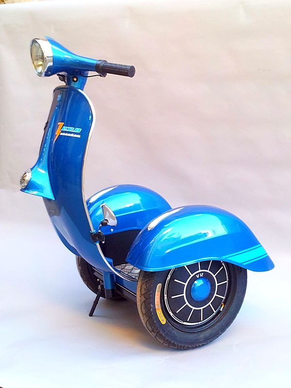 Awesome Vespa Segway for Sale - autoevolution