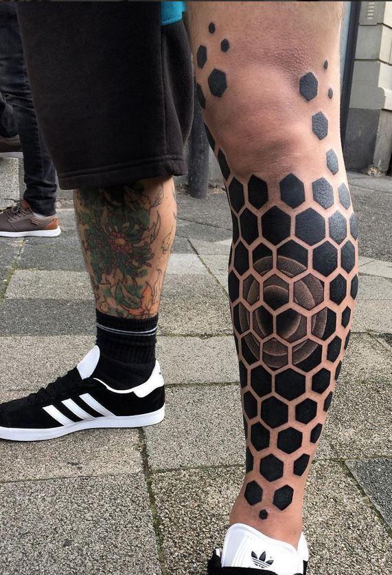 Pin de Fantasy en Tattoos Tatuajes pierna hombre