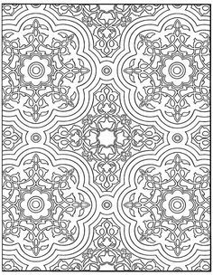Moroccan Design Coloring Pages