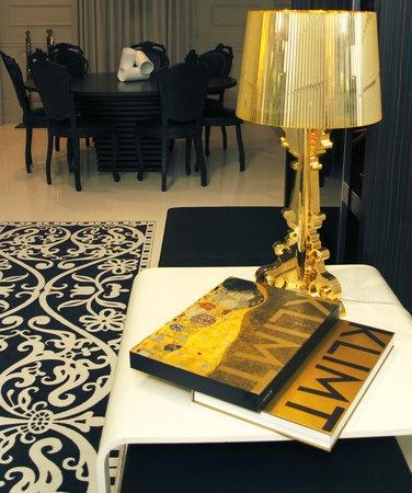 gold bourgie lamp. Black Bedroom Furniture Sets. Home Design Ideas