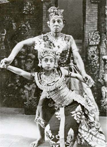 Balinese dance training