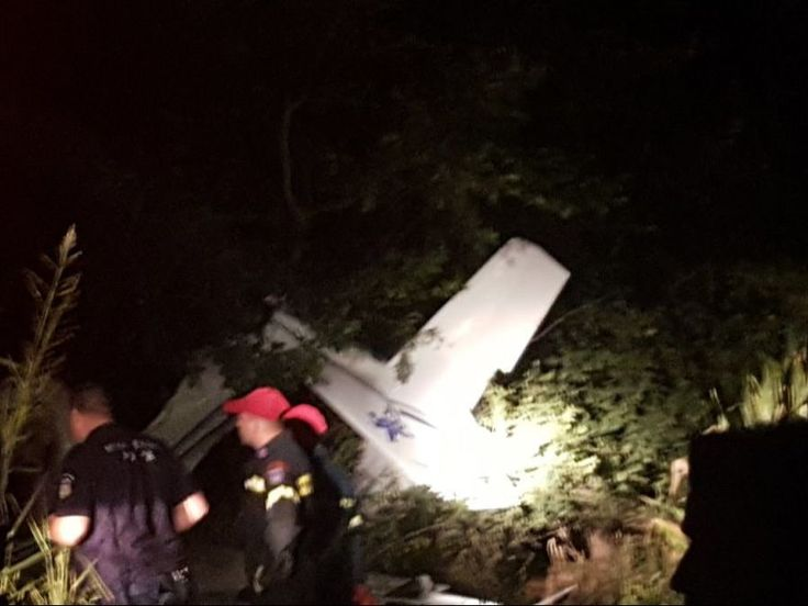 Λάρισα: Νεκροί οι δυο επιβαίνοντες στο μοιραίο αεροσκάφος