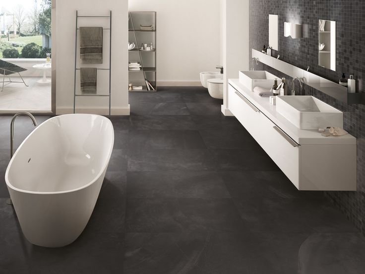 Ergon Playground Resin Bruxelles Black 40x80 naturale