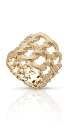 H.Stern golden ring