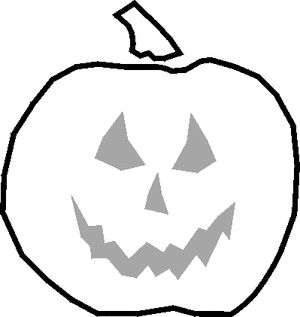 "Free Stencils Collection: Halloween: <a href=""http://painting.about.com/od/freestencils/ss/stencil_hallown_3.htm"">Pumpkin stencil</a>"