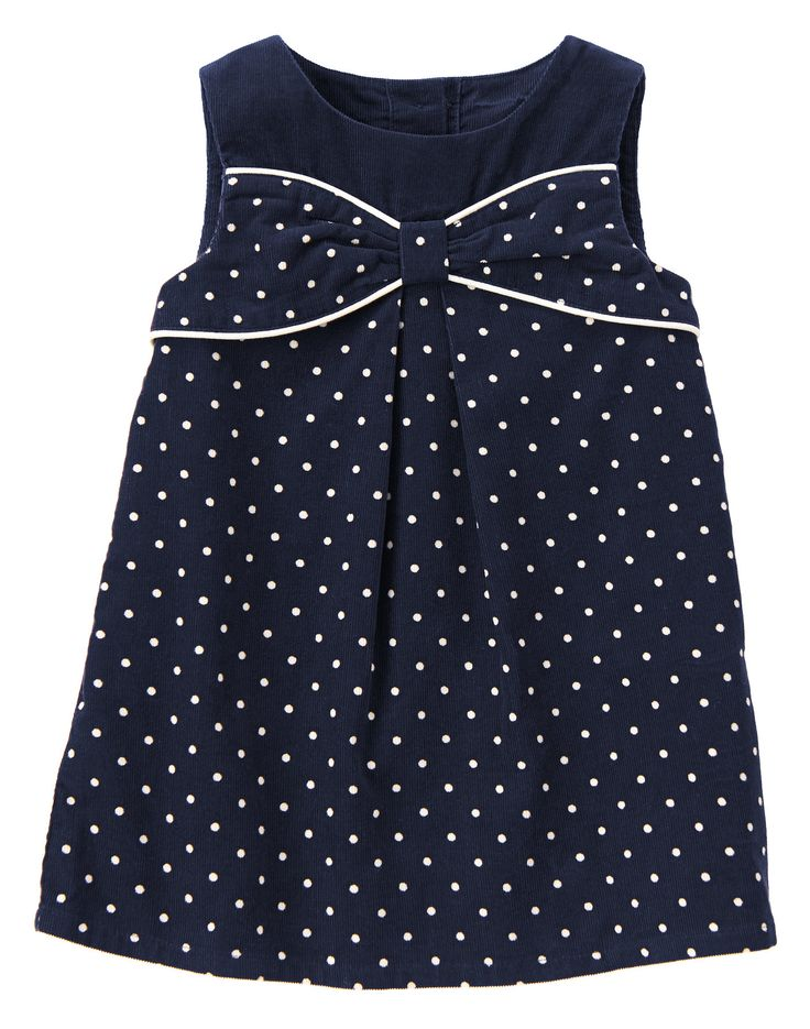 Polka Dot Smock Top 5T (prep perfect)