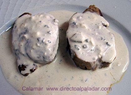 Directo al Paladar | Solomillo al cabrales (i) Direct to the palate | Sirloin steak with cabrales