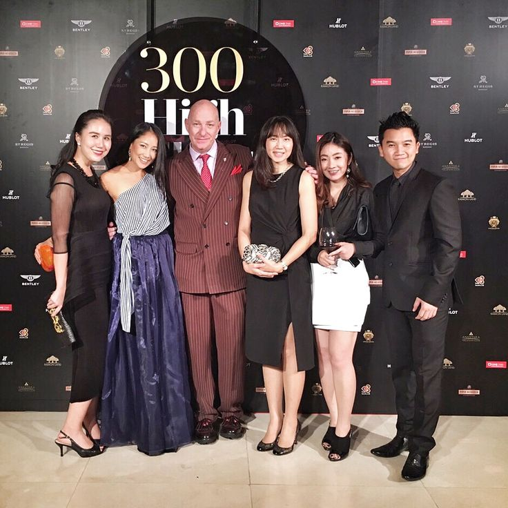 Congratulations to Prestige Thailand magazine for the launching of 300 High Flyers