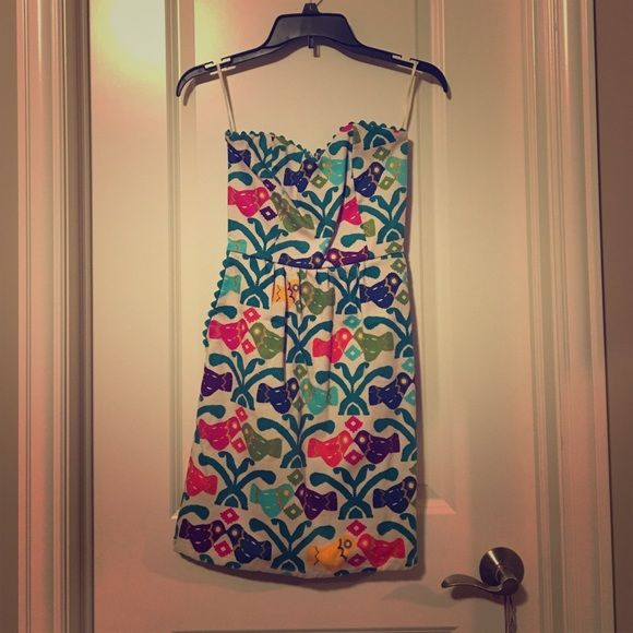 Judith March dress! Very vibrant colors... Perfect for teens and summer... Feel free to make an offer :) Judith March Dresses Mini