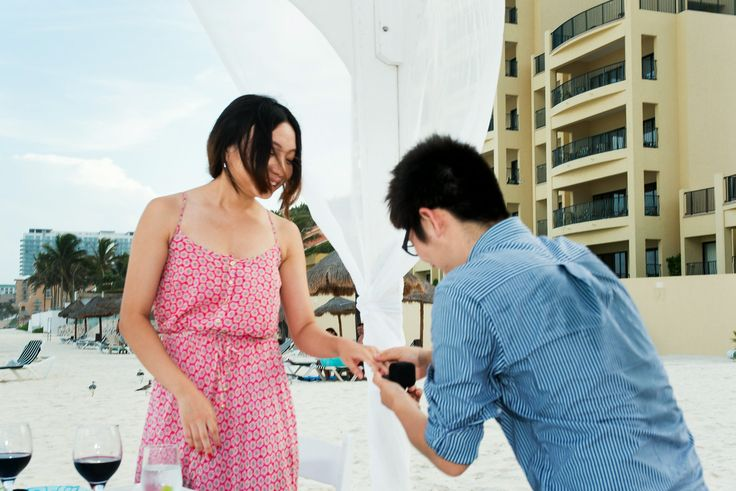 #cancun #proposal #marriage at The Royal Sands