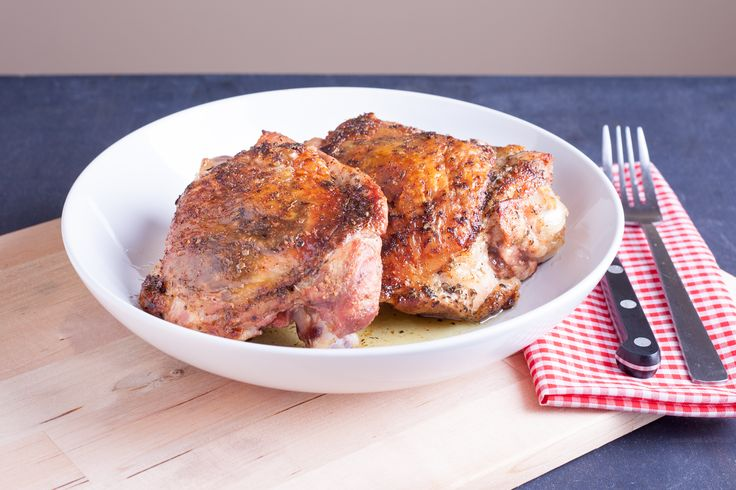 How to Cook a Turkey Thigh in the Oven - it's what's for dinner :)