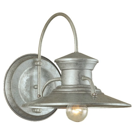 Found it at Wayfair - Wall Sconce in Galvanized debra Pinterest Sconces, Lighting and Wall ...