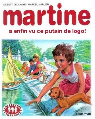 martine a vu enfin ce putain de logo (Martine Cover generator)